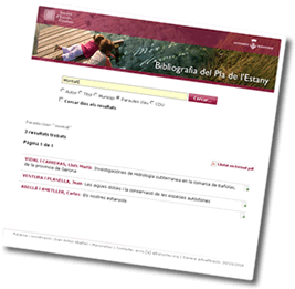 Anar al web Bibliografia del Pla de l'Estany